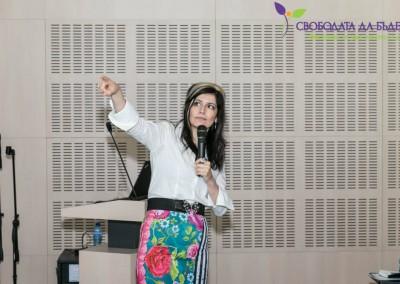 Маргарита Асадурова на фестивала Свободата да бъдеш