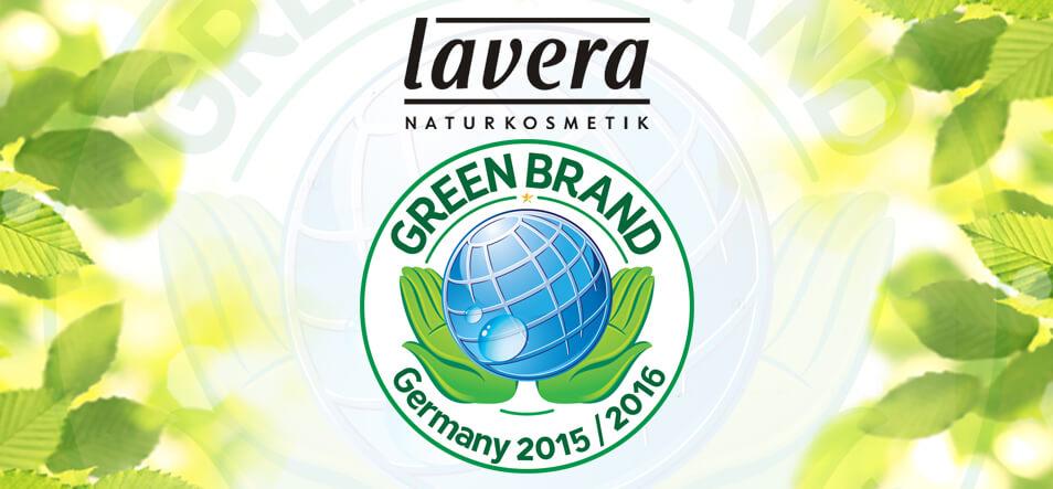 GREEN BRAND lavera site
